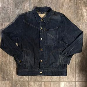 Volcom Workwear Denim Jacket sz L